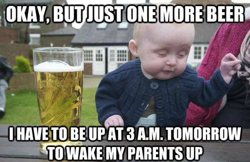 Funny No Sleep Meme : It's always the no sleep for parents jokes that get me random
