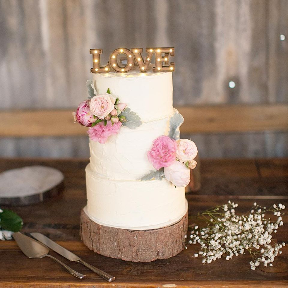 Marquee Light Up Cake Topper Love Birdcage Weddingmarquee