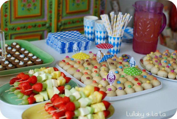 Børnefødselsdag Inspiration lullaby & la la: som lovet billedspam fra en cirkus