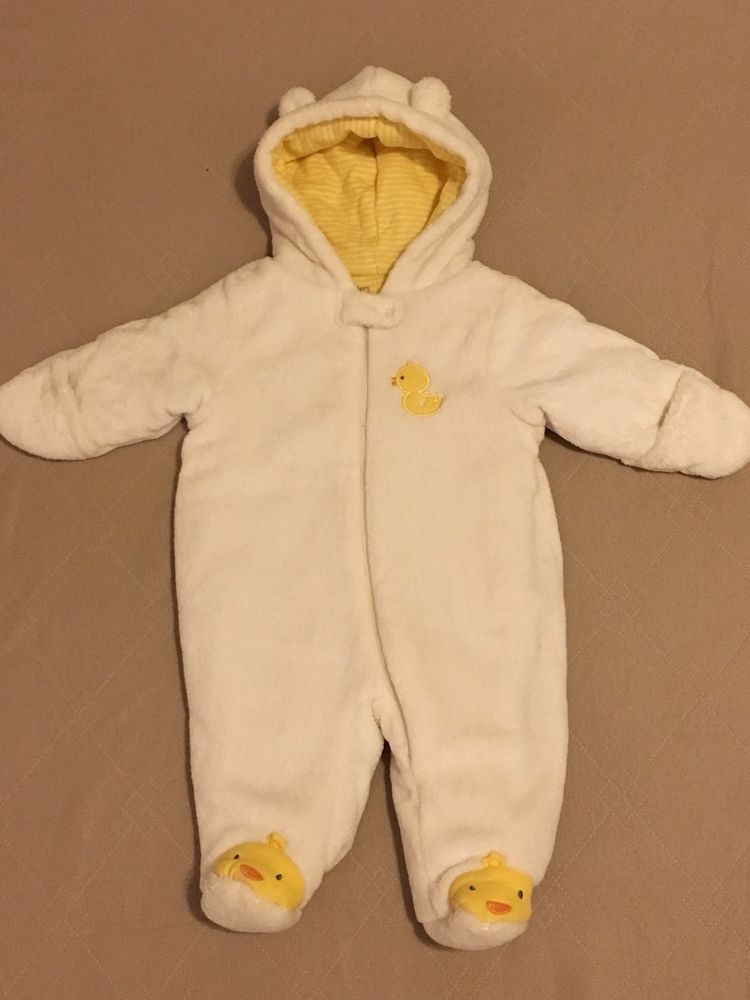 1a98e8387 Little Wonders Size o-3 Months Baby White Duck Hooded Pram Snow Suit # LittleWonders #Snowsuit #Dressy