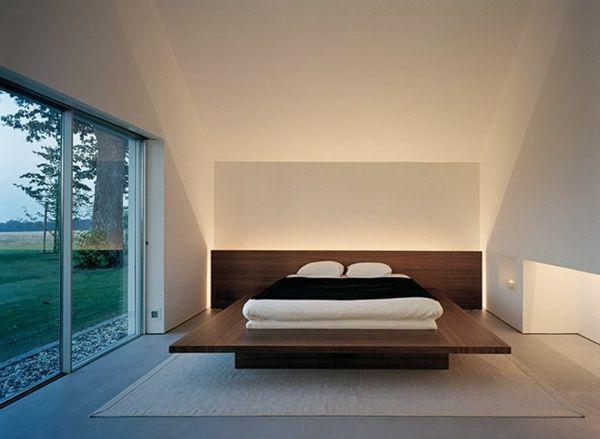 Indirekte Beleuchtung im Schlafzimmer - schöne Ideen! - Archzine.net ...