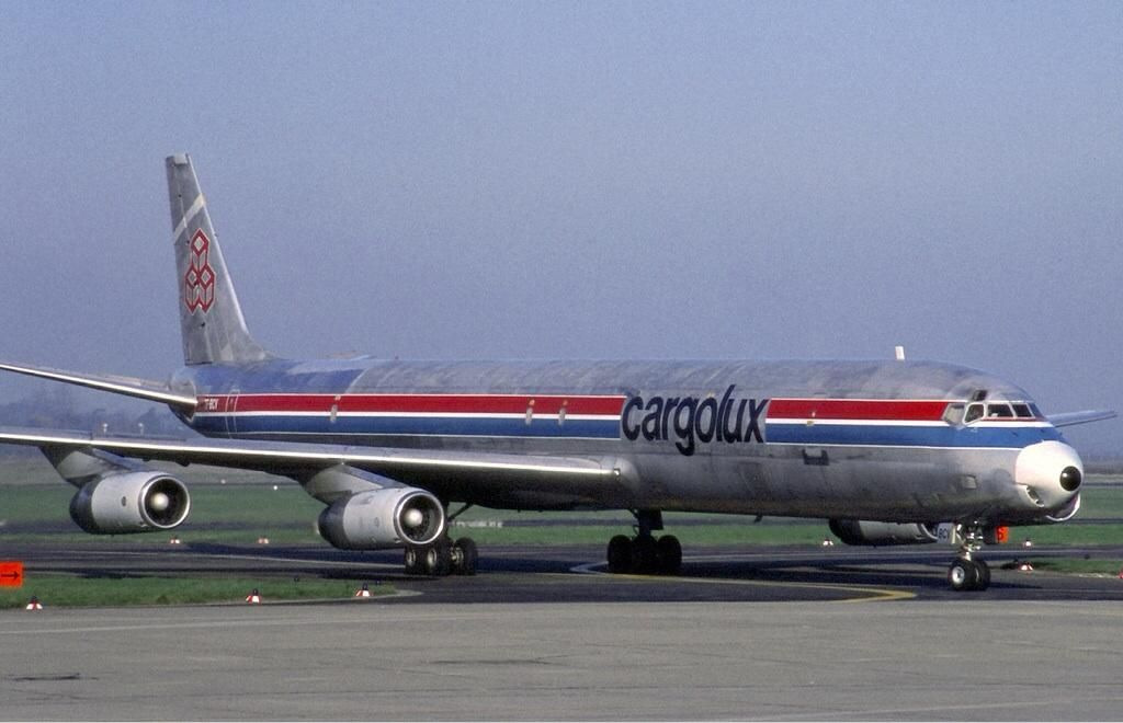 PJ de Jong (PJ) on Douglas dc 8, Aviation, Cargo aircraft