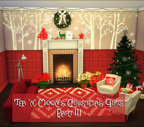 Sims 3 Seasons Christmas Tree: Tea 'n' Moon Sims, Tea 'n' Moons Christmas Gifts Part III