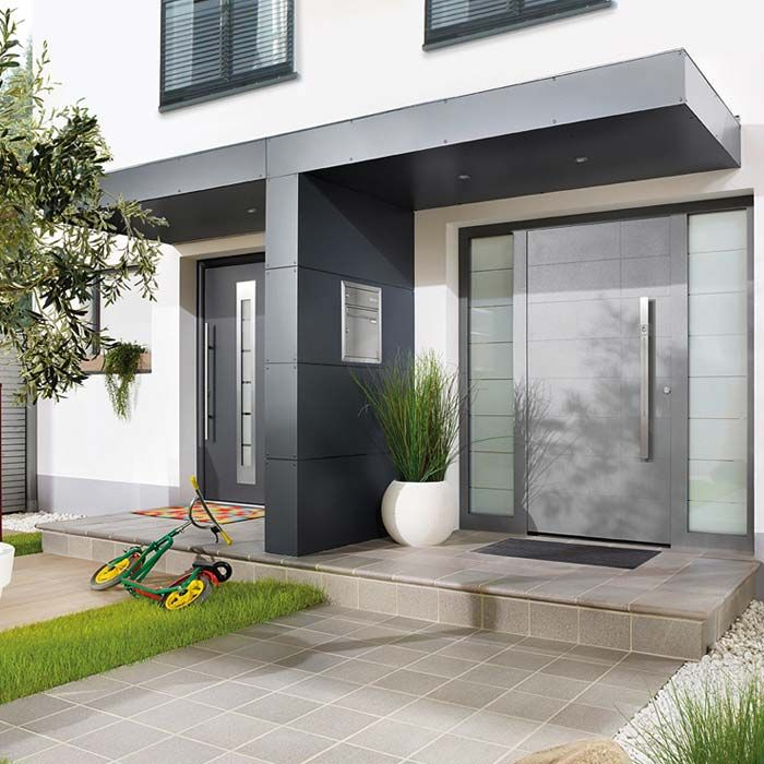 eingangs berdachung in t form ideen rund ums haus pinterest hofeinfahrt hauseingang und. Black Bedroom Furniture Sets. Home Design Ideas