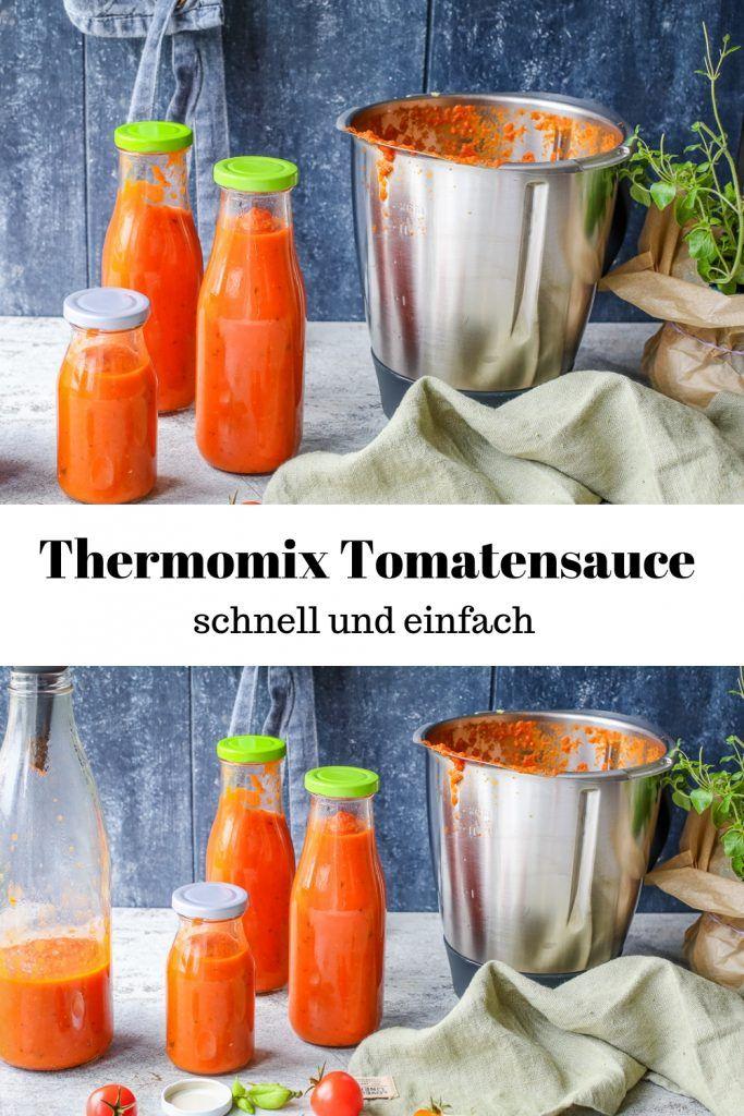 Thermomix Tomatensauce – auf Vorrat {Ruck Zuck fertig}