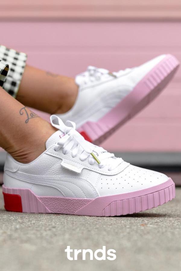 Cali White Pink for Women | Puma cali