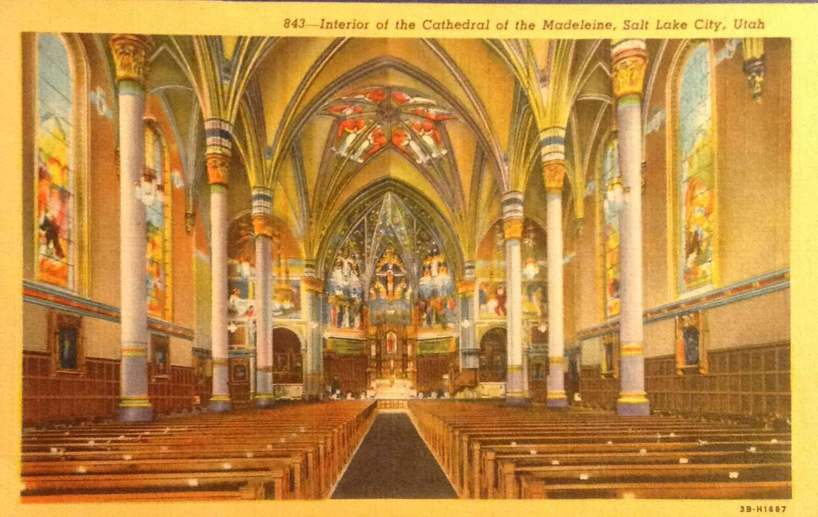 Interior of the cathedral of the madeleine salt lake city linen interior of the cathedral of the madeleine salt lake city linen kristyandbryce Image collections