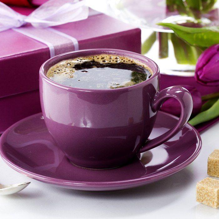 цвет утренний кофе