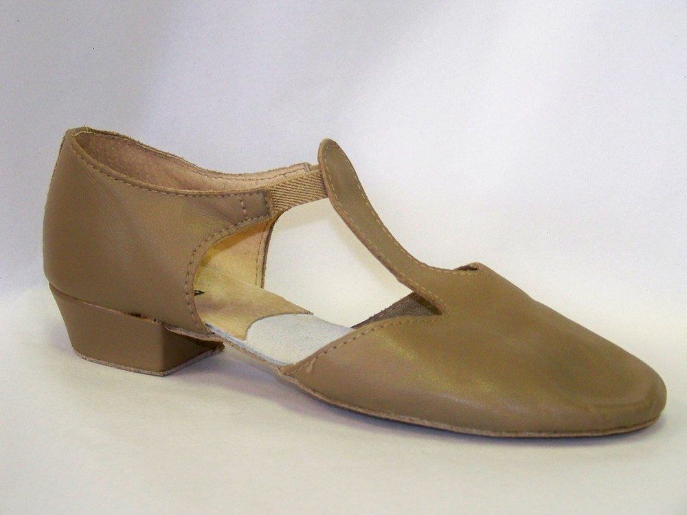 776c804b9c8ce Jazz Hip Hop 150664  So Danca Md-03 Grecian Sandal Suede Sole And Heel