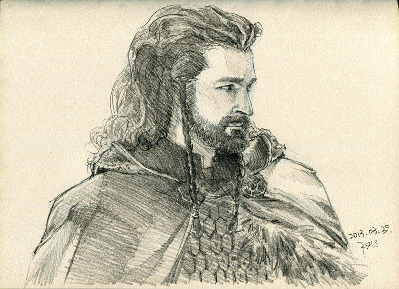 Thorin. This art is amazing!! ❤️