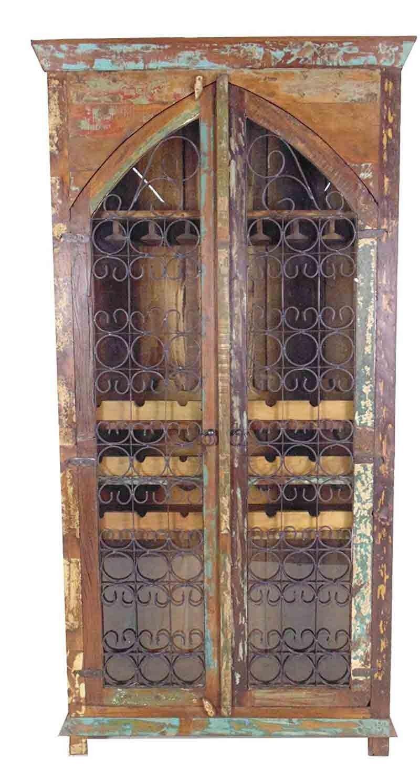 MOTI Furniture   Trinidad Tall Wine Cabinet   87021001