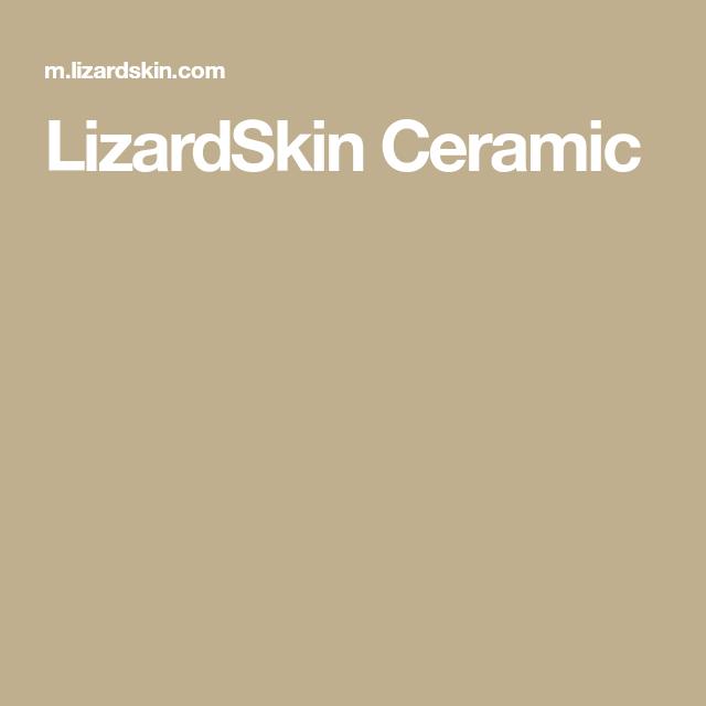 LizardSkin Ceramic | Wooden boat building | Wooden boat