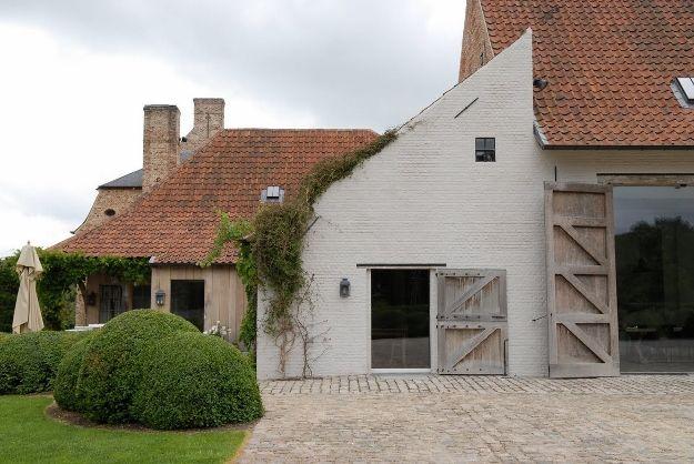 Pin van tessa w op droomhuis pinterest huizen landelijk wonen en gevel - Gevels van hedendaagse huizen ...