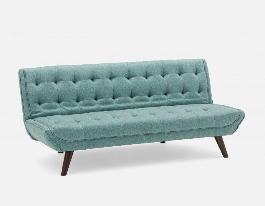 Miloh Blue Tufted Sofa Bed In 2019 Sofa Bed Grey Sofa Bed Sofa
