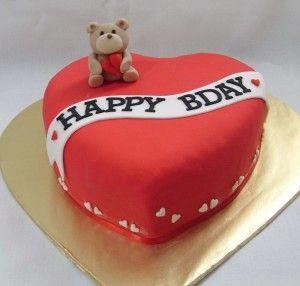 Birthday Cake Heart Shape Hd Heart Birthday Cake
