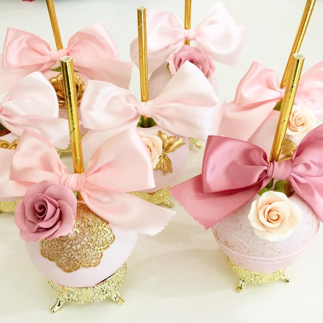 Pretties in Pink. #sandiegodesserts #gourmetapples #dessertartist ...