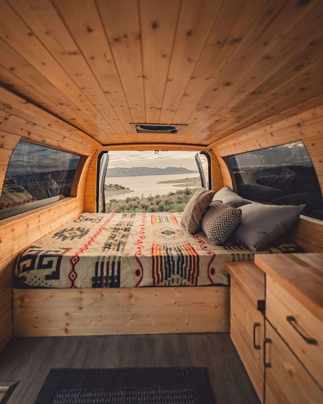 Pin On Camper Van Conversion Diy
