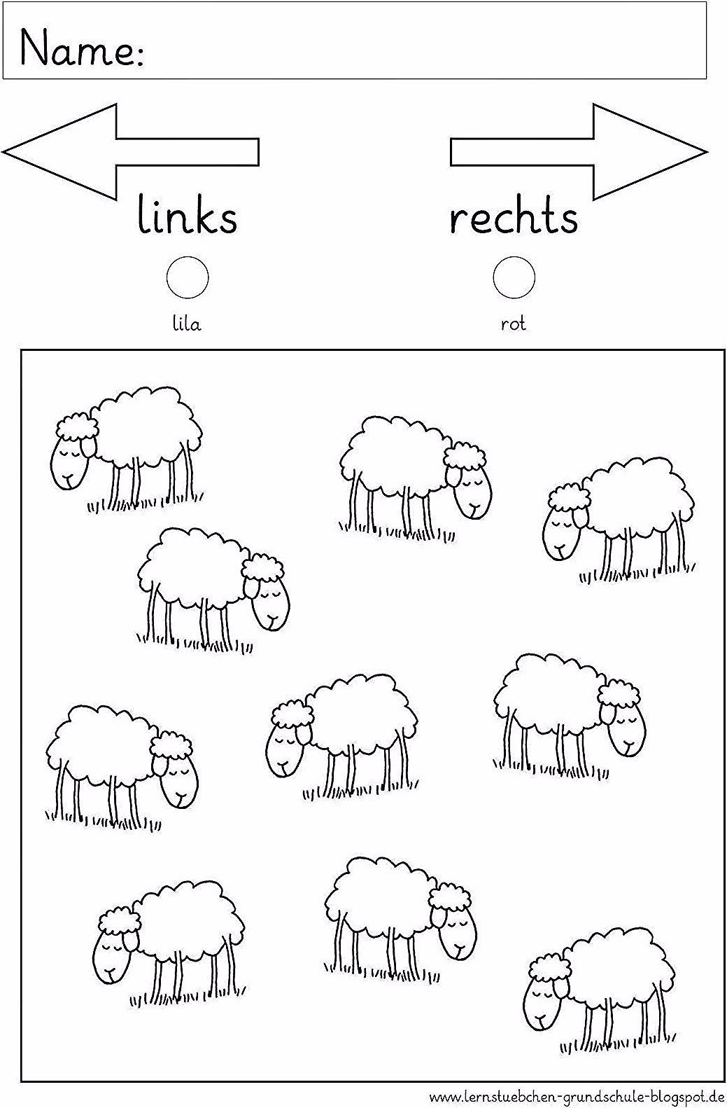 Lernstubchen Rechts Und Links With Images