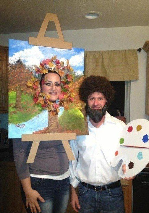 Funny creative homemade halloween costumes for adults painter funny creative homemade halloween costumes for adults painter painting solutioingenieria Images