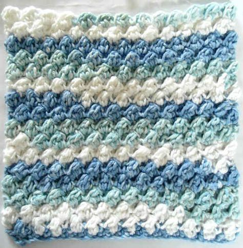 This is my favorite dishcloth pattern and it\'s free. | CROCHET ...