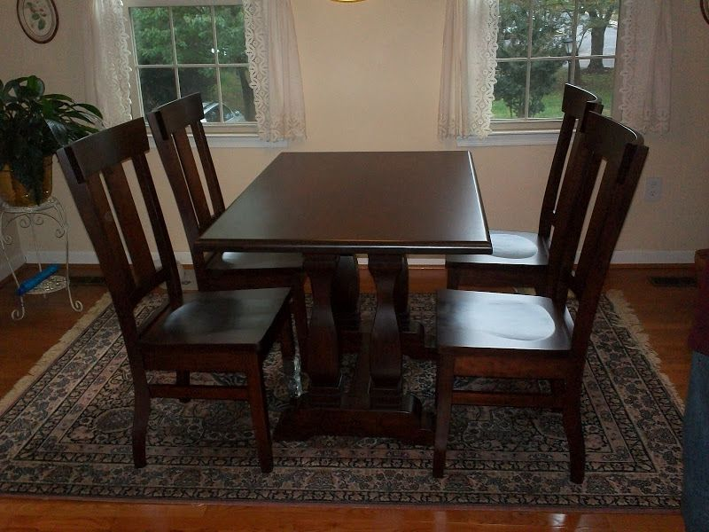 50 X 32 Dane Dining Table And Monaco Chairs In Rich Cherry From Cool Cherry Dining Room Chairs Sale Decorating Design