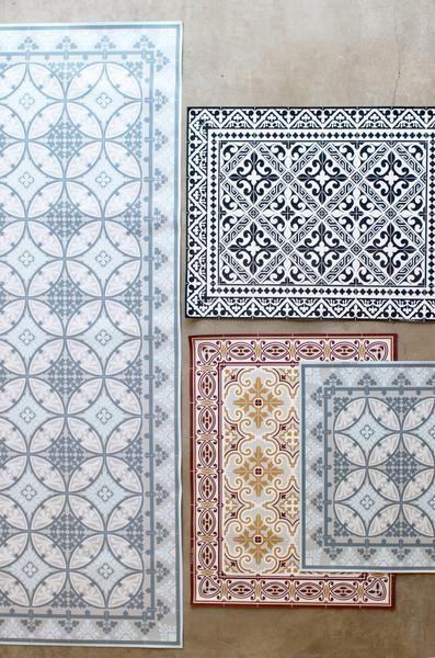 Kitchen Floor Runner Propane Stove Moroccan Tile Vinyl Living Pinterest Flooring