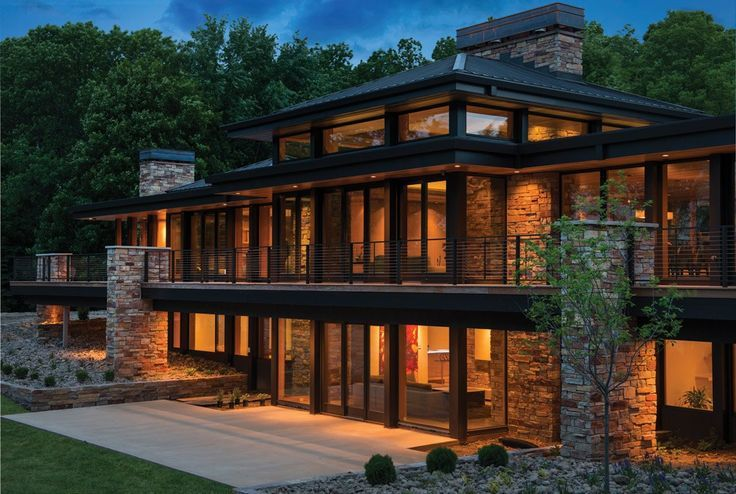 Lake Charlotte Luxus von Charles R. Stinson Architektur mit Hage Homes - #Architektur #Charles #Charlotte #Hage #Homes #Lake #Luxus #mit #Stinson #von #exteriordecor