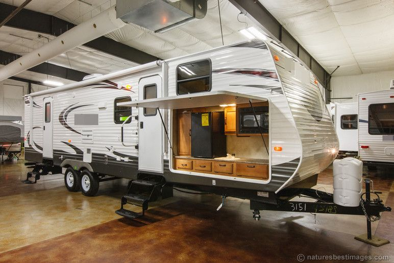 New 2014 Palomino Solaire 318Stbhk Bunkhouse Travel Trailer Camper Gorgeous Travel Trailer With Outdoor Kitchen Review