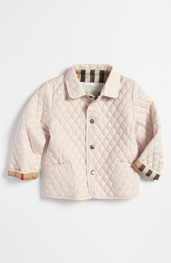 Burberry Quilted Jacket (Toddler) available at Nordstrom | For H&H ... : burberry quilted jacket kids - Adamdwight.com
