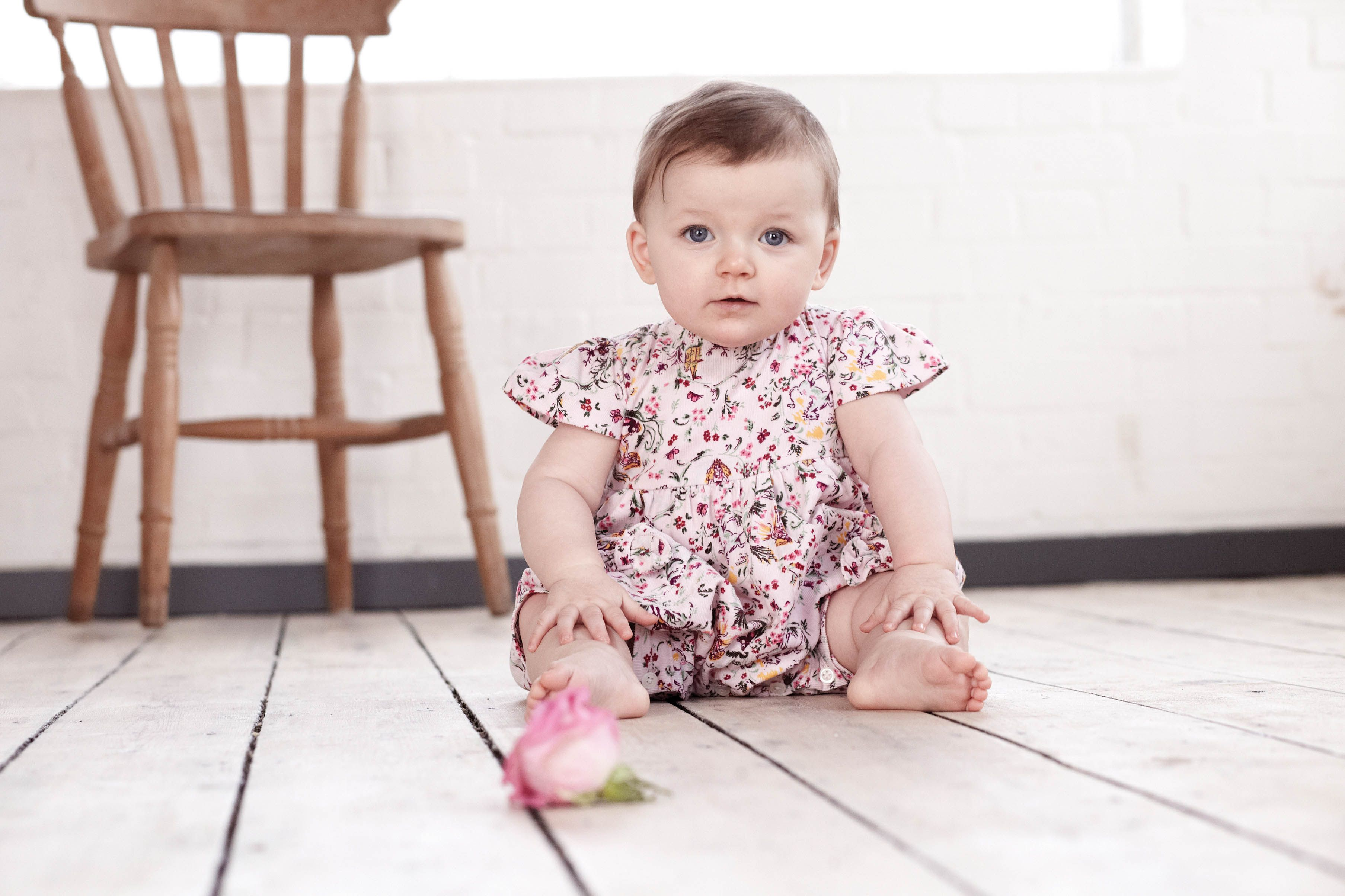 Fairytale Baby Cord Playsuit by Their Nibs London AW13 English