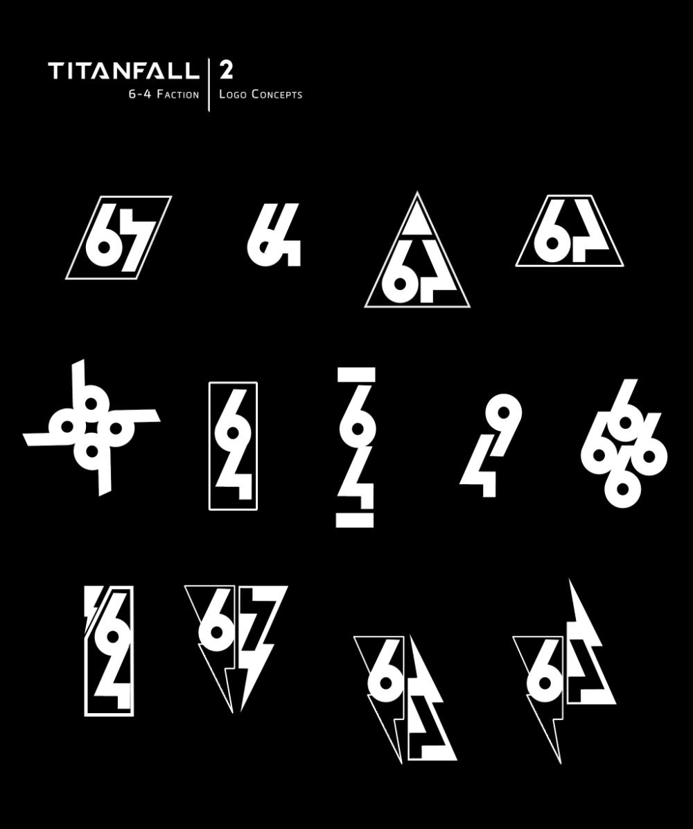 Artstation Titanfall 2 Iconography Brad Allen Iconography Titanfall Logo Concept