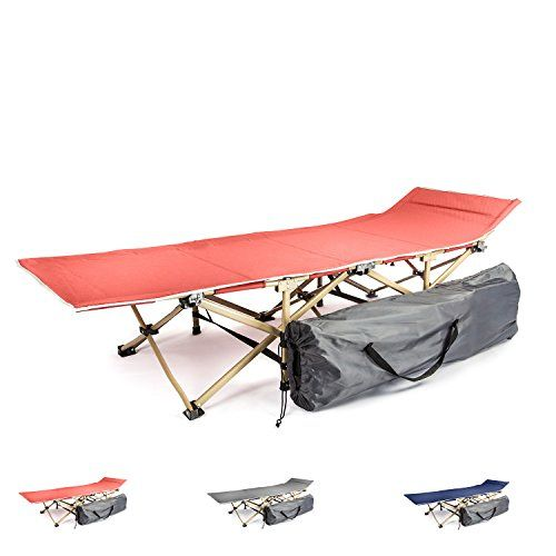 Camping cot portable folding bed for adults and kids