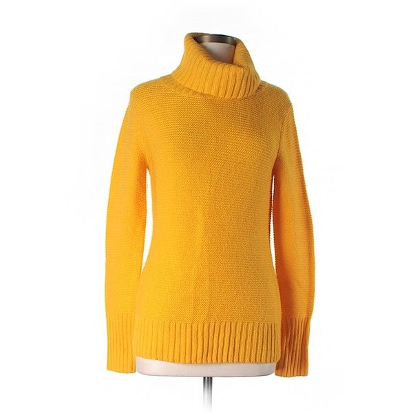Pre-owned Banana Republic Turtleneck Sweater ($24) ❤ liked on ...
