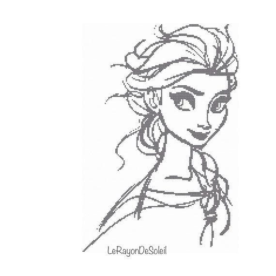 Pin de Lori Haima en Disney | Pinterest | Punto de cruz, Bordado y ...