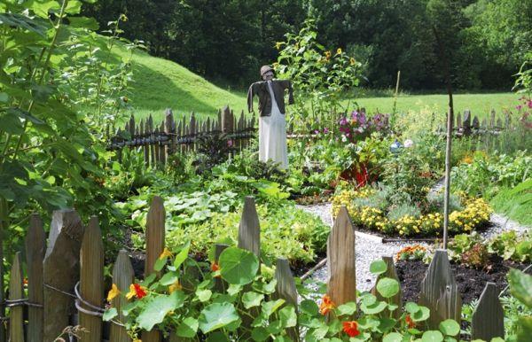 innenhof gemüse garten gestalten ideen | garten heimwerken, Garten ideen
