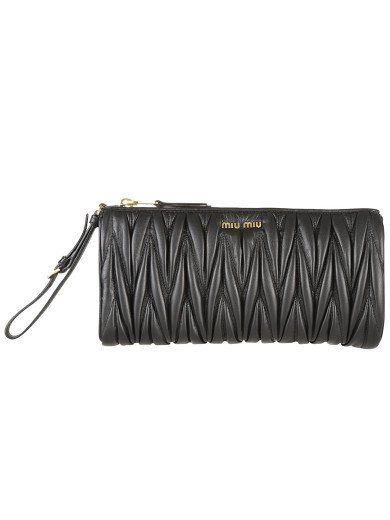 040c4df09f56 MIU MIU Miu Miu Matelasse Leather Clutch.  miumiu  bags  shoulder bags   clutch  leather  hand bags