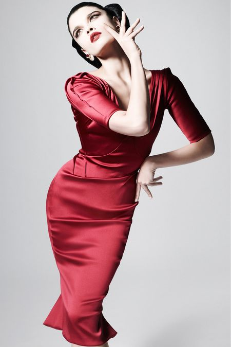 #BeMine? Need I say More? Zac Posen Pre-Fall 2013