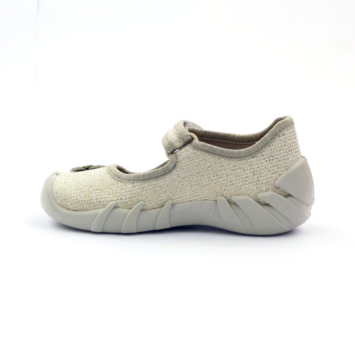 Befado Children S Shoes Ballerinas Slippers 109p163 Brown Grey Yellow Childrens Shoes Ballerina Slippers Childrens Slippers