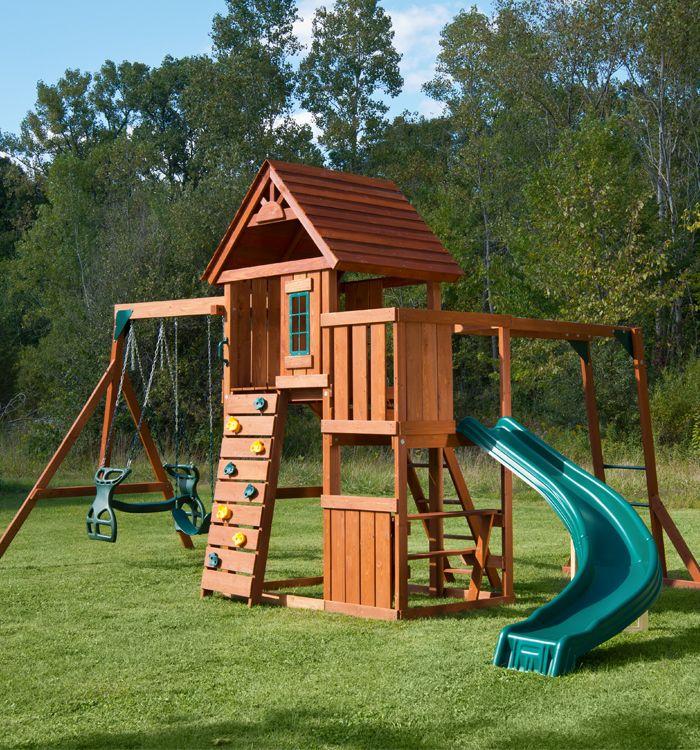 Cedar Brook Swing Set Playset