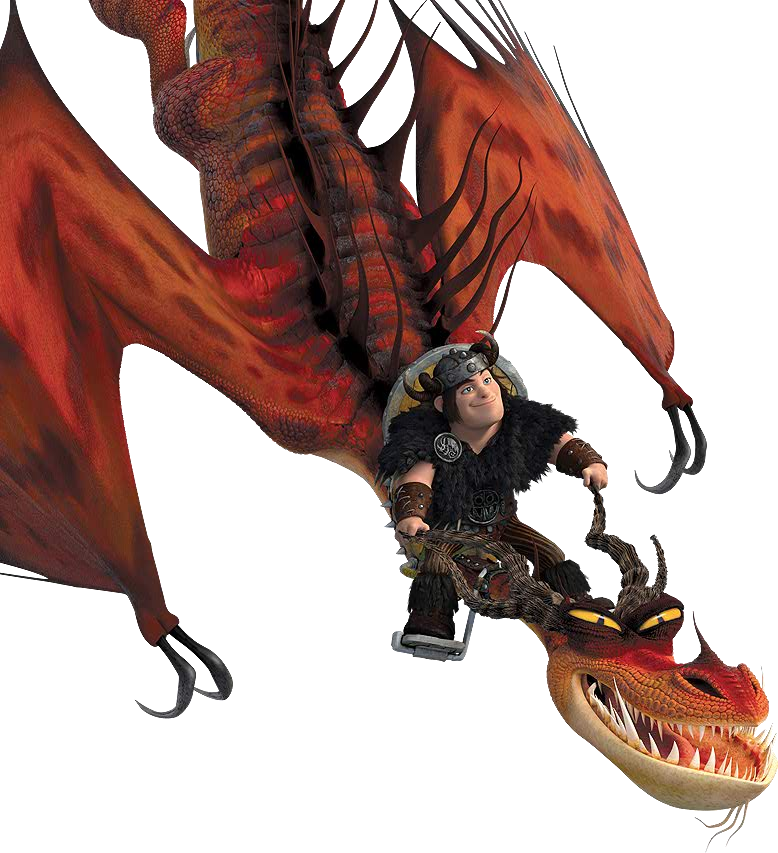 Snotlout Riding On Hookfang How Train Your Dragon How To Train