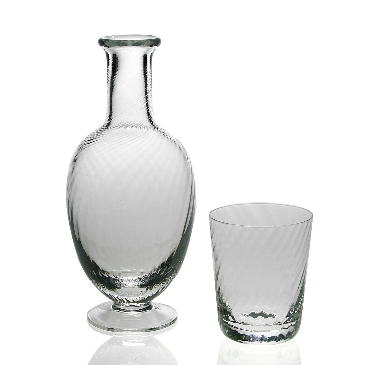 William Yeoward Country Quilty Bedside Carafe And Tumber Set