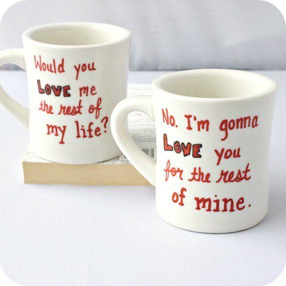 Couple Anniversary Mug Tea Love Couples For Coffee Cup Set 67gbYyf