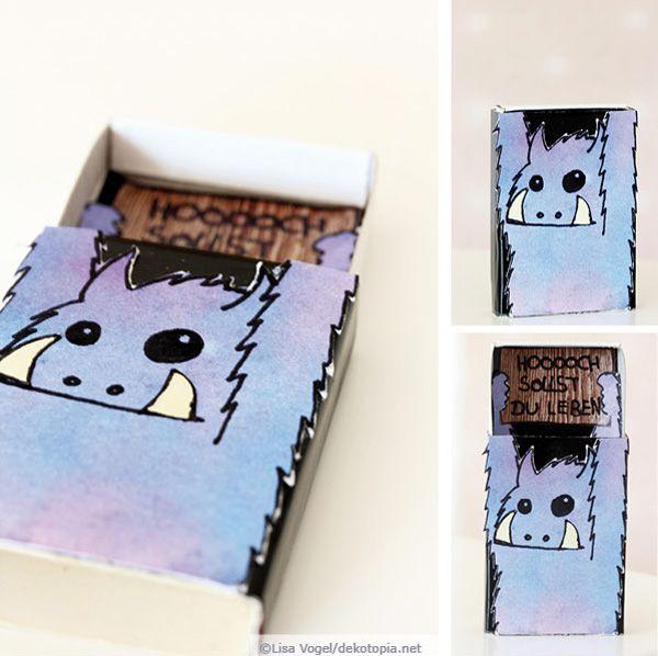 Monster-Schachtel mit Geburtstagsgrüßen