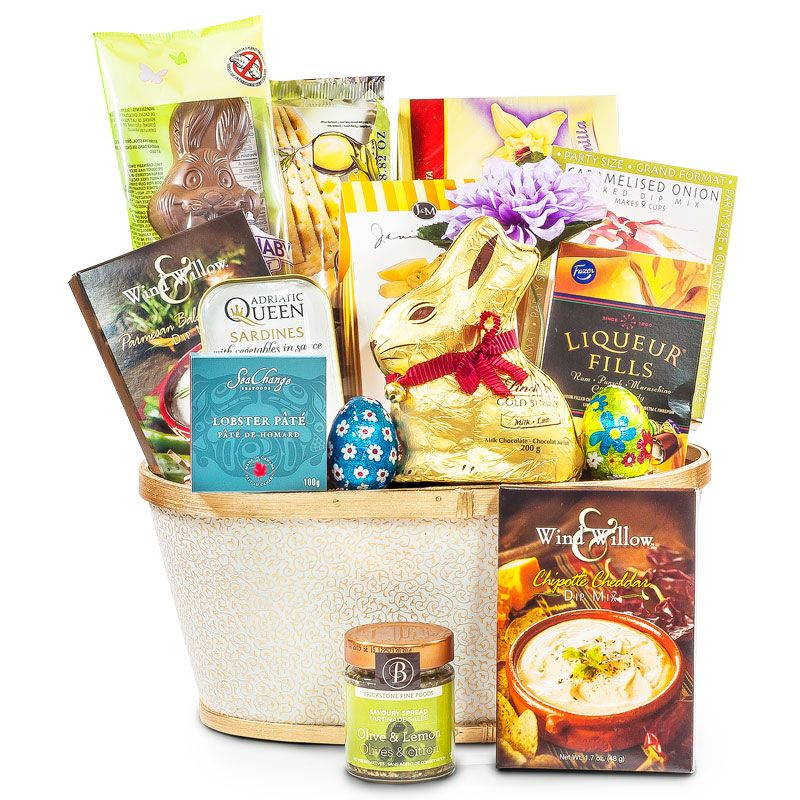 Easter gourmet basket gourmet baskets easter chocolate and easter gourmet basket easter family gift basket negle Gallery
