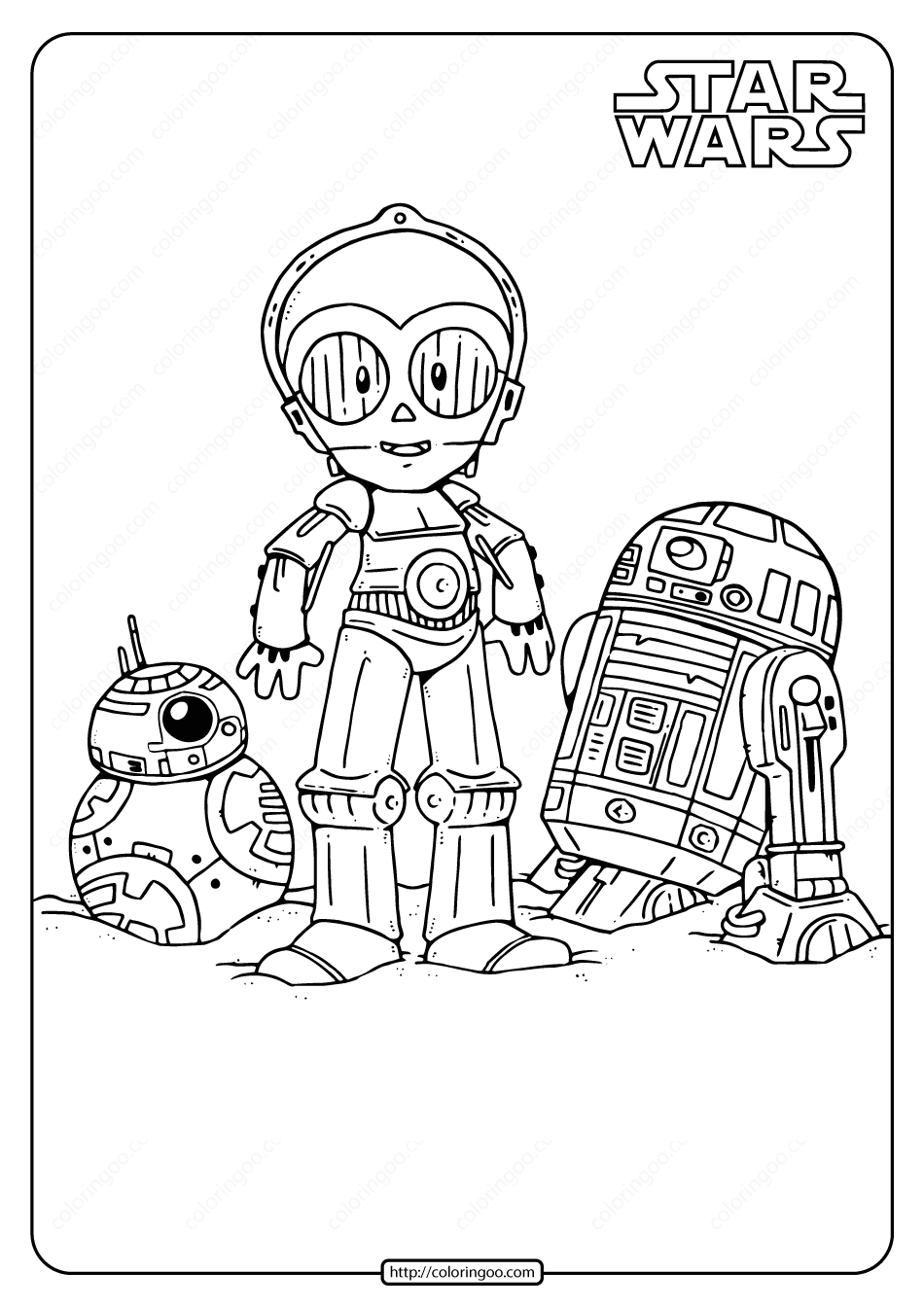 Printable Star Wars Droids Coloring Pages Droids Star Wars Ideas Of Droids Star Wars Sta Star Wars Drawings Star Wars Coloring Book Star Wars Art Drawings