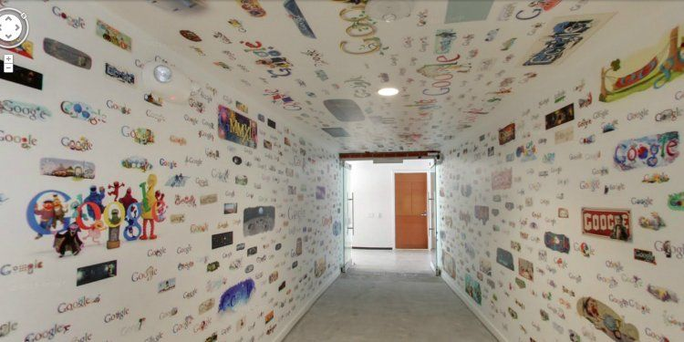 Walls Only One Hall But This Is Cool Google 39 S Los