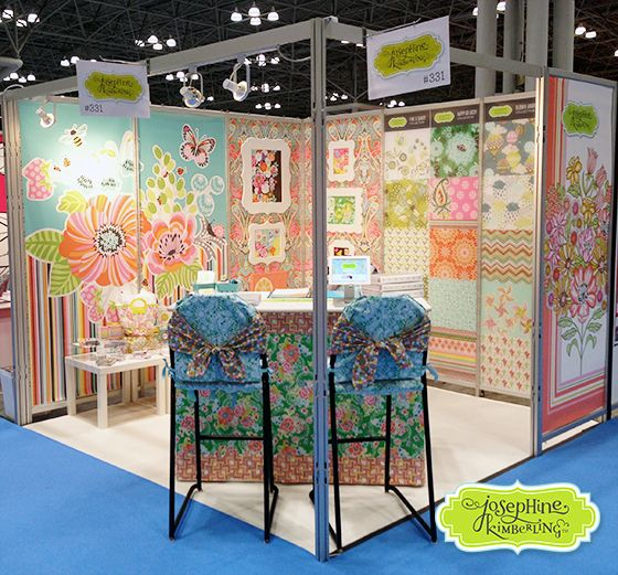 Josephine Kimberling's booth at Surtex 2013, #331
