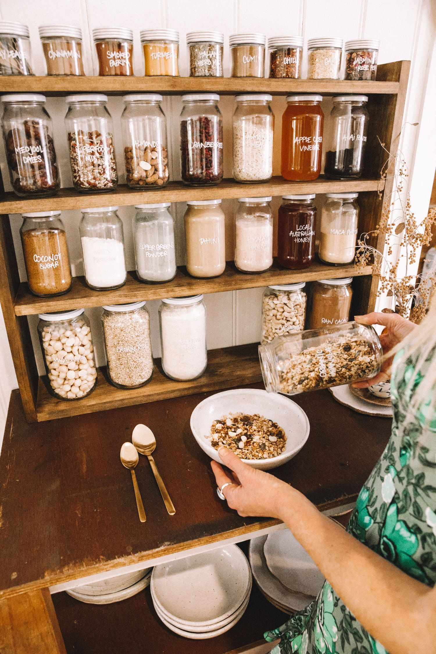 DIY Waste Free Pantry - Spell & the Gypsy Collective #homefurniturekitchens #wastefreeliving