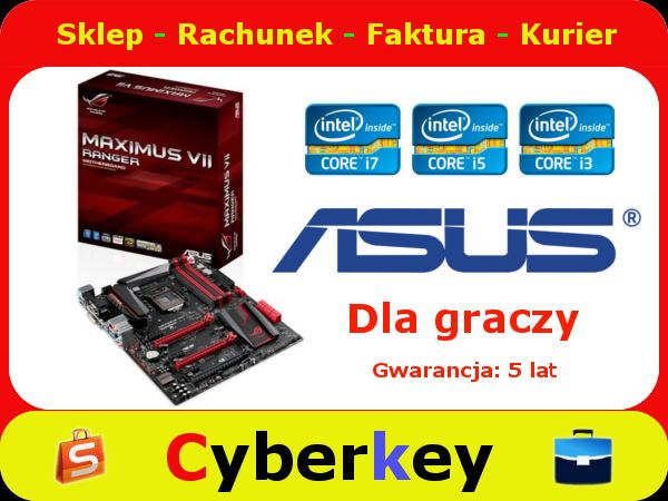Plyta Glowna Dla Graczy Asus Maximus Vii Ranger 5367928457 Oficjalne Archiwum Allegro Ranger Asus Core I7