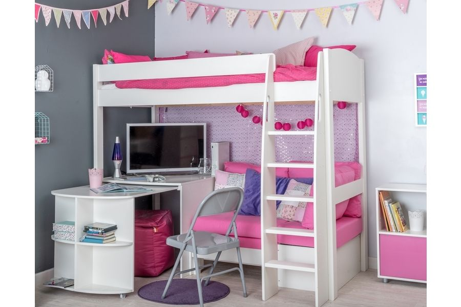 Terrific Stompa Unos 22 Highsleeper With Sofa Bed And Extending Theyellowbook Wood Chair Design Ideas Theyellowbookinfo